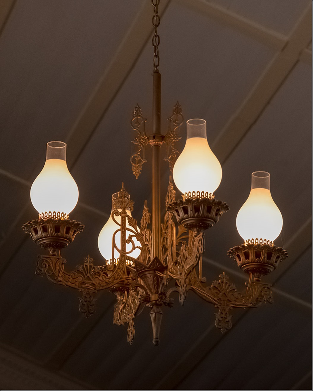 170 Year Old Light Fixtures